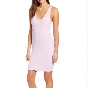 NWT Leith razorback body-con dress